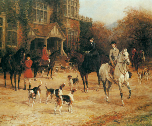 Art Prints of The Meet, No. 1 by Heywood Hardy