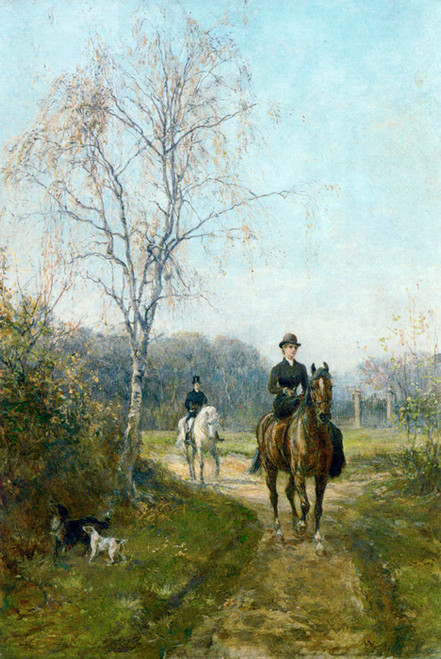 Art Prints of The Morning Ride, 1887 by Heywood Hardy