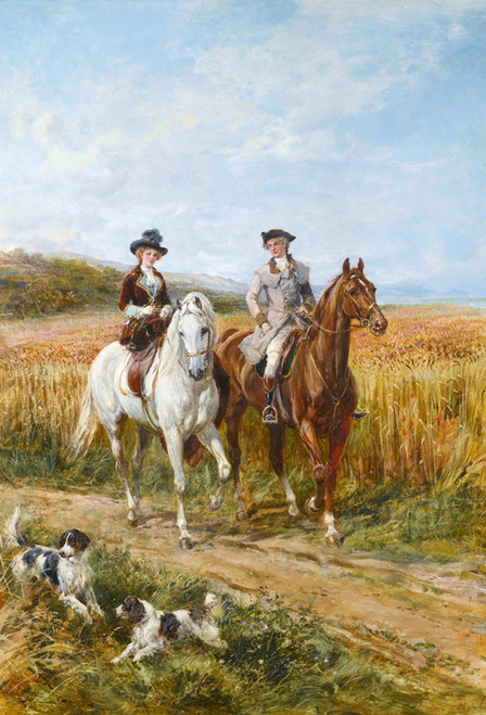 Art Prints of The Morning Ride II by Heywood Hardy