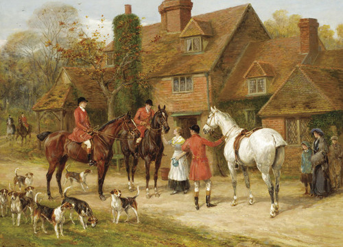 Art Prints of The Stirrup Cup by Heywood Hardy
