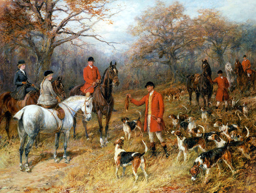 Art Prints of The Presentation by Heywood Hardy