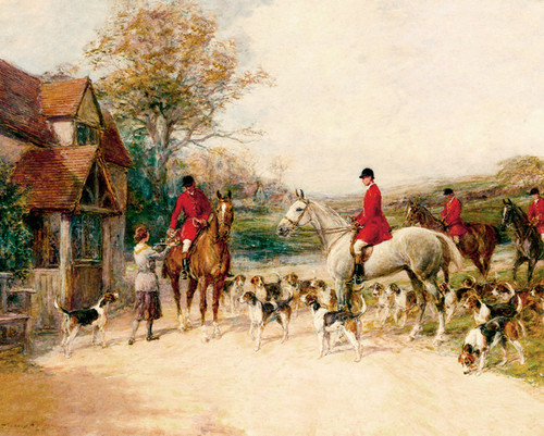 Art Prints of The Stirrup Cup, No. 2 by Heywood Hardy