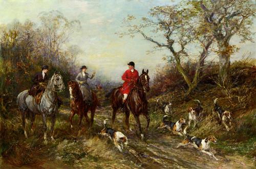 Art Prints of Viewed Away Back by Heywood Hardy