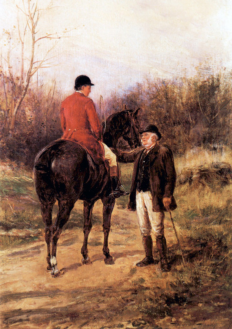 Art Prints of Whipper and Farmer by Heywood Hardy