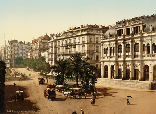 Art Prints of Place de la Republique, Algiers, Algeria (387072)