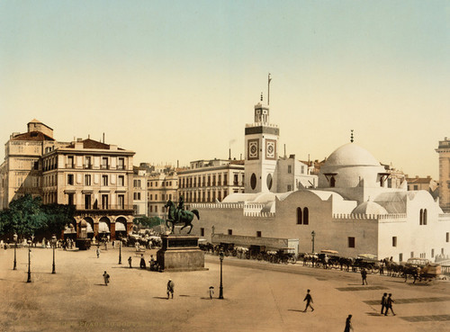 Art Prints of Government Place, Algiers, Algeria (387073)