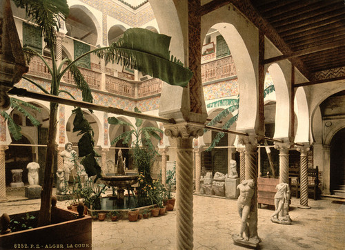 Art Prints of Museum Entrance Hall I, Algiers, Algeria (387078)