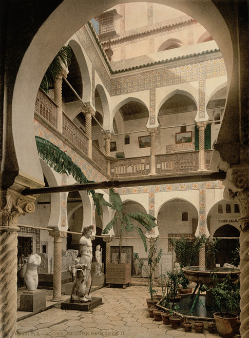 Art Prints of Museum Entrance Hall II, Algiers, Algeria (387079)