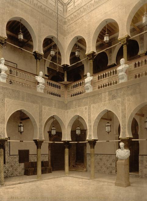 Art Prints of Interior of Governor's Palace, Algiers, Algeria (387083)