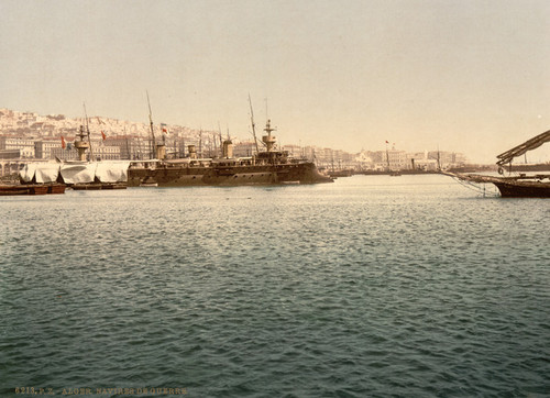 Art Prints of Warships, Algiers, Algeria (387085)