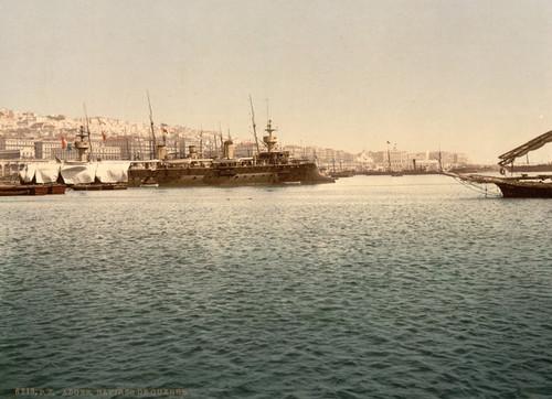 Art Prints of Warships, Algiers, Algeria (387085)