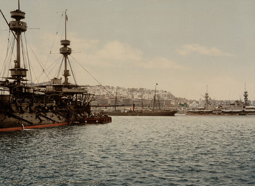 Art Prints of With War Ships, Algiers, Algeria (387084)