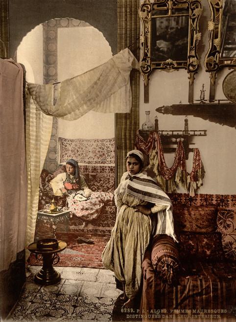 Art Prints of Distinguished Moorish Women, Algiers, Algeria (387100)