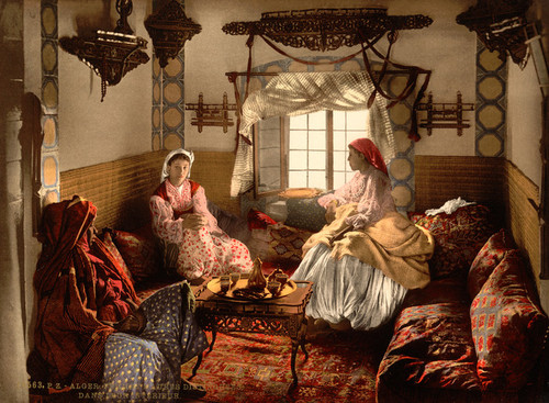 Art Prints of Distinguished Moorish Women, Algiers, Algeria (387101)