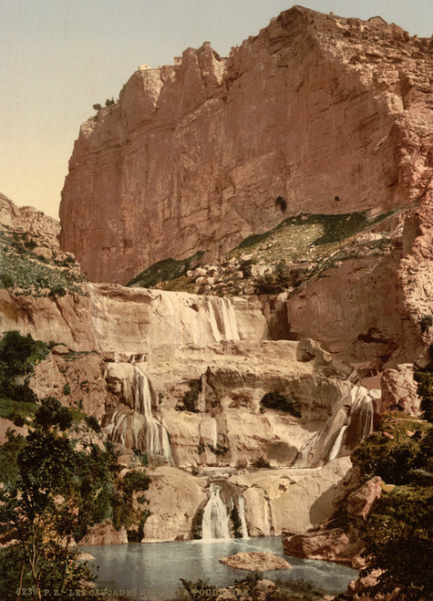 Art Prints of The Cascades, Constantine, Algeria (387120)
