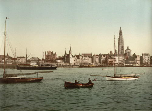 Art Prints of General View II, Antwerp, Belgium (387132)