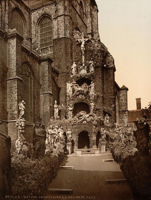 Art Prints of The Calvary, St. Paul's Church, Antwerp, Belgium (387133)
