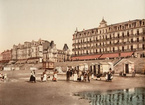 Art Prints of The Hotels, Blankenberghe, Belgium (387150)