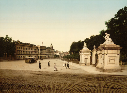 Art Prints of The Royal Palace, Brussels, Belgium (387169)