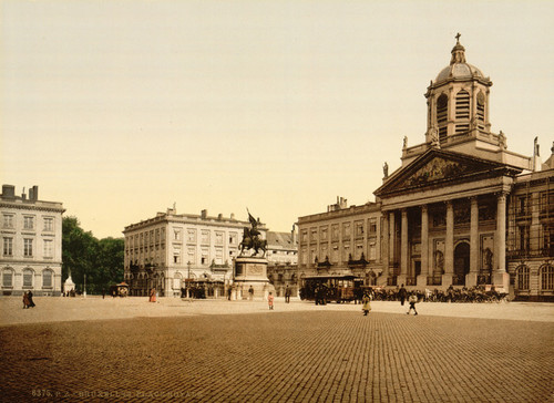 Art Prints of The Royal Palace, Brussels, Belgium (387168)