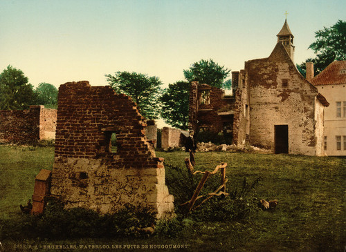 Art Prints of Waterloo, the Wells of Hougoumont, Belgium (387180)