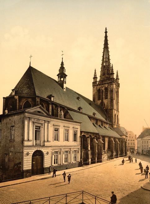 Art Prints of St. Gertrude Church, Louvain, Belgium (387210)