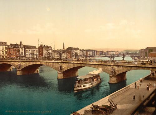 Art Prints of Bridge of Arches, Liege, Belgium (387208)