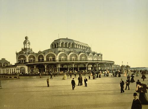 Art Prints of The Kursaal or Cursaal, Ostend, Belgium (387219)
