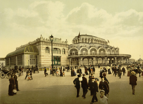 Art Prints of The Kursaal or Cursaal, Ostend, Belgium (387220)