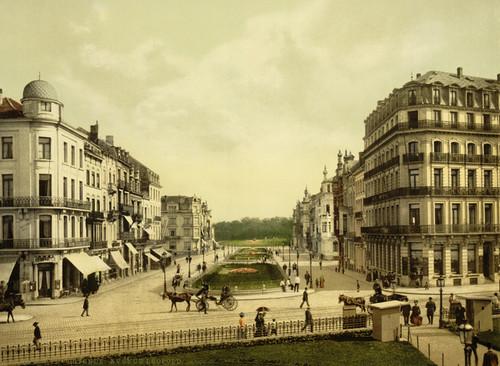 Art Prints of Avenue Leopold, Ostend, Belgium (387221)