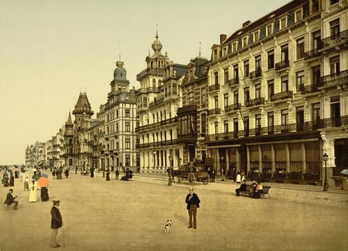 Art Prints of The Embankment, Ostend, Belgium (387224)