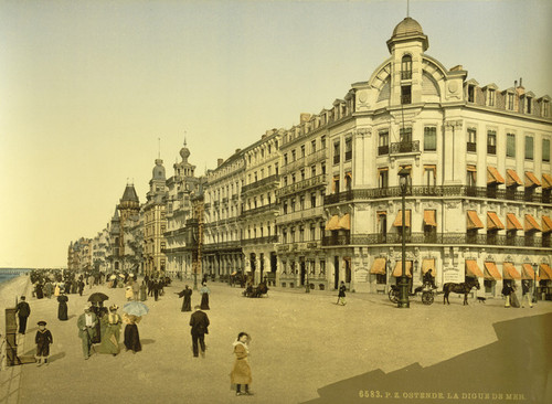 Art Prints of The Embankment and Kursaal or Cursaal, Ostend, Belgium (387228)