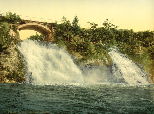 Art Prints of The Coo Waterfalls, Spa, Belgium (387237)
