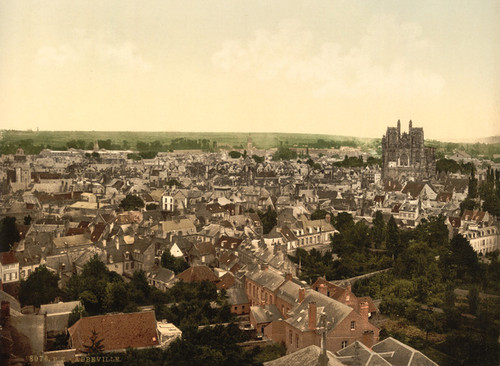 Art Prints of General View, Abbeville, France (386959)