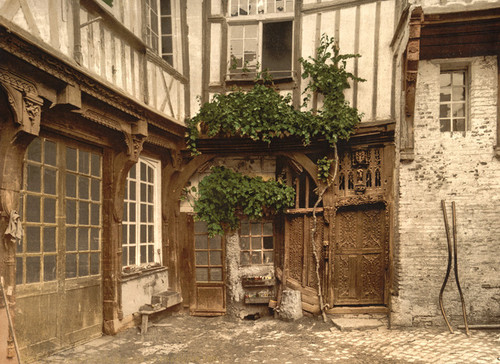 Art Prints of House of Francis I, Abbeville, France (386957)