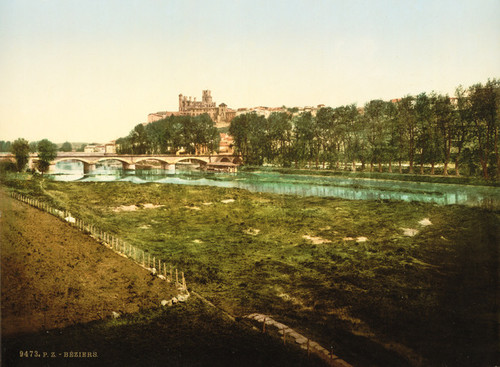 Art Prints of General View, Beziers, France (386990)