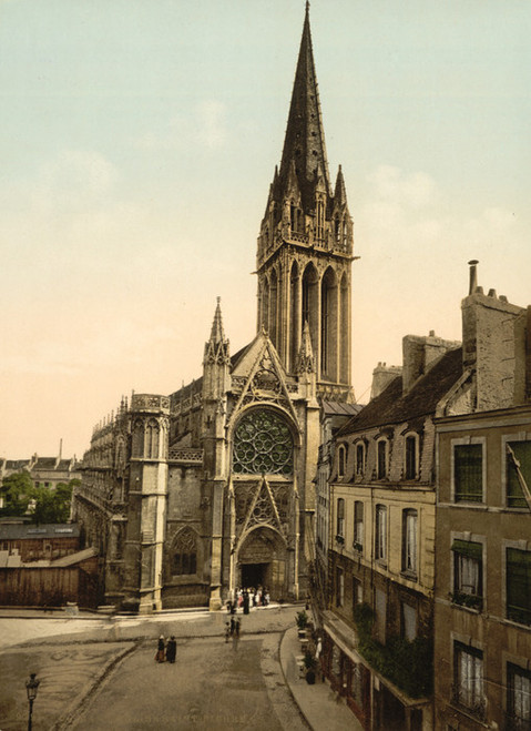 Art Prints of St. Pierre Church, Caen, France (387016)