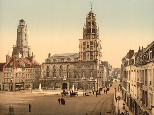 Art Prints of La Place d'Armes, Calais, France (387020)