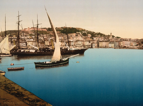 Art Prints of The Harbor, Cette, France (387027)