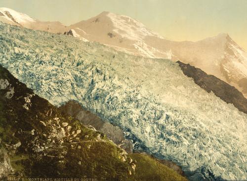 Art Prints of Aiguille du Gouter, Chamonix Valley, France (387038)