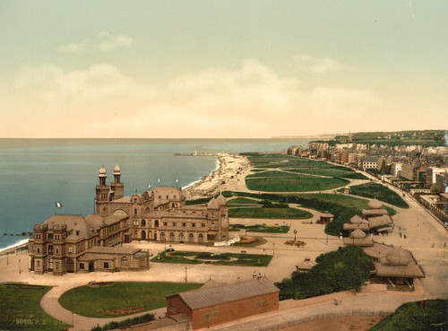 Art Prints of General View, Dieppe, France (387058)