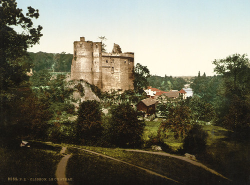 Art Prints of The Castle, Clisson, France (387057)
