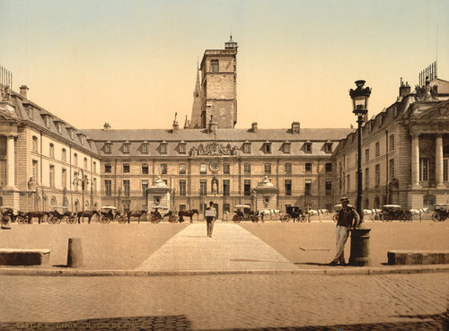 Art Prints of The Town Hall, Dijon, France (387262)
