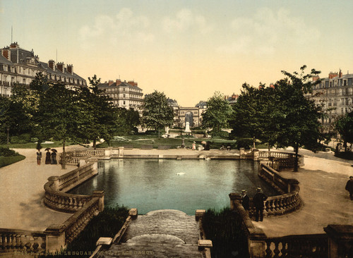 Art Prints of The Square and the Place d'Arcy, Dijon, France (387264)