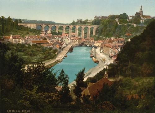 Art Prints of General View, Dinan, France (387265)