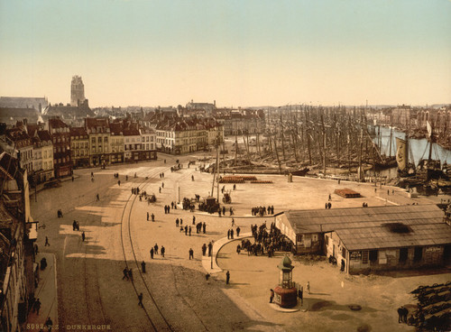 Art Prints of General View, Dunkirk, France (387274)