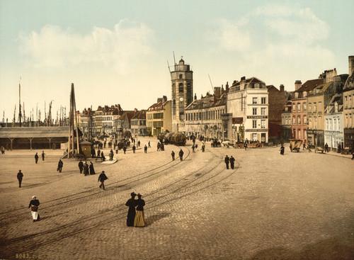 Art Prints of Leugunaer Wharf, Dunkirk, France (387276)