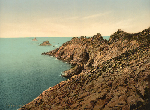 Art Prints of Pointe du Raz, Douarnenez, France (387273)