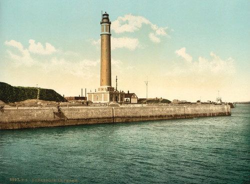 Art Prints of The Lighthouse, Dunkirk, France (387278)