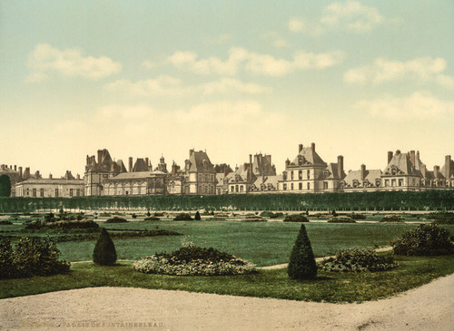 Art Prints of In the Park, Fontainebleau Palace, France (387284)